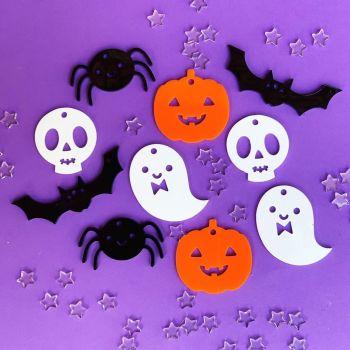 Halloween decorations - set of ten
