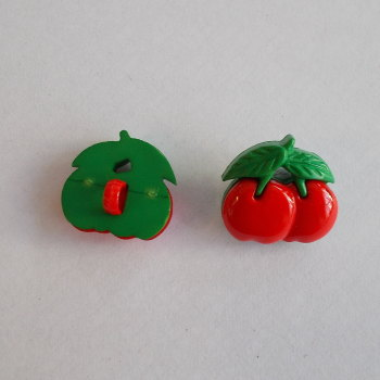 Novelty Buttons - Cherries