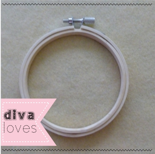 wooden embroidery hoops diva crafts diva loves week 142