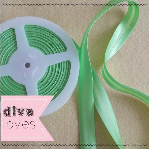 light apple green satin bias binding diva crafts diva loves week 146