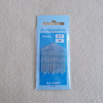 Sharps Needles Size 3/9