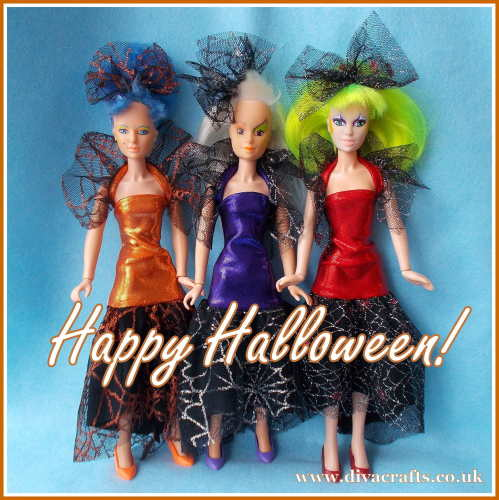 Jem doll halloween collection fashions cazjar diva crafts