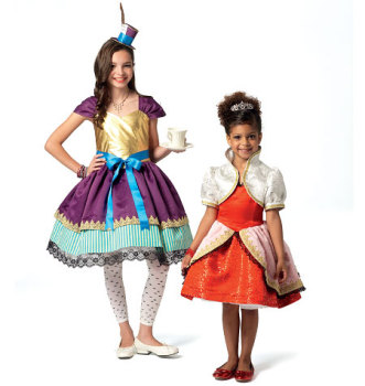 McCall's 7036 Costume Sewing Pattern Sizes Age 3-6