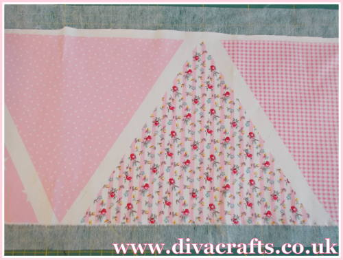 bunting free tutorial diva crafts (2)