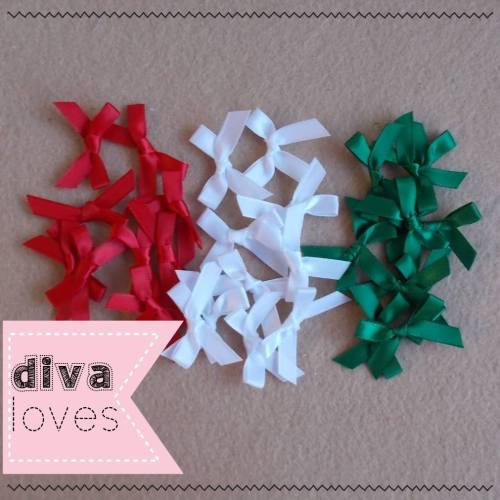 satin ribbon bows christmas diva crafts diva loves week 151