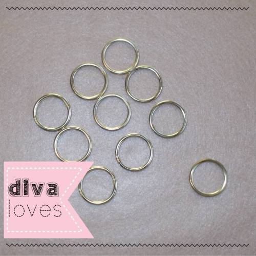 brass coloured curatin rings dorset buttons haberdashery diva crafts diva l
