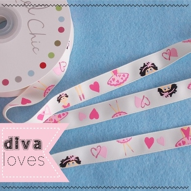 reel chic 16mm wide ballet ribbon diva crafts diva loves week 135