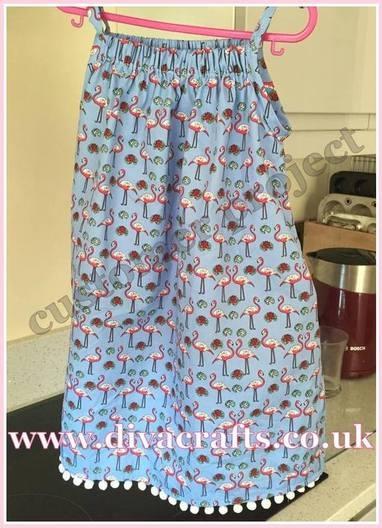 customer project sharon dress diva crafts