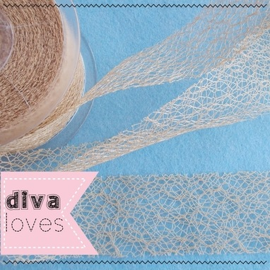 mesh ribbon trimming diva crafts diva loves week 139