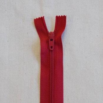 12 Inch Zip Nylon - 010 Dark Red