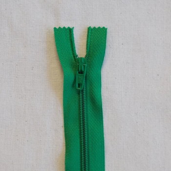 12 Inch Zip Nylon - 012 Emerald Green