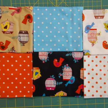 Fat Quarter Bundle - Bird Cage