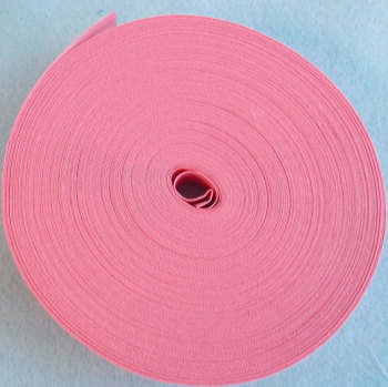 25mm Wide Bias Binding Sold by the Metre - Rose Pink