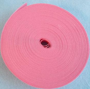 25mm Wide Bias Binding Sold by the Metre - Rose Pink