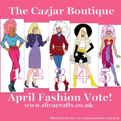 april jem fashion voting cazjar diva crafts