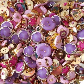 75g Candy Mix Craft Buttons