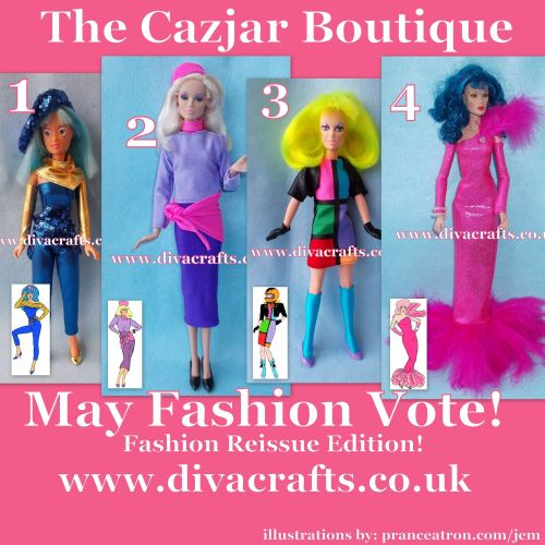 may jem fashion voting cazjar diva crafts