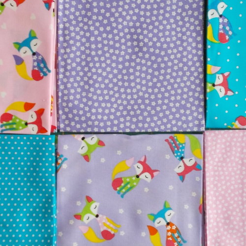Fat Quarter Bundle - mr fox diva crafts