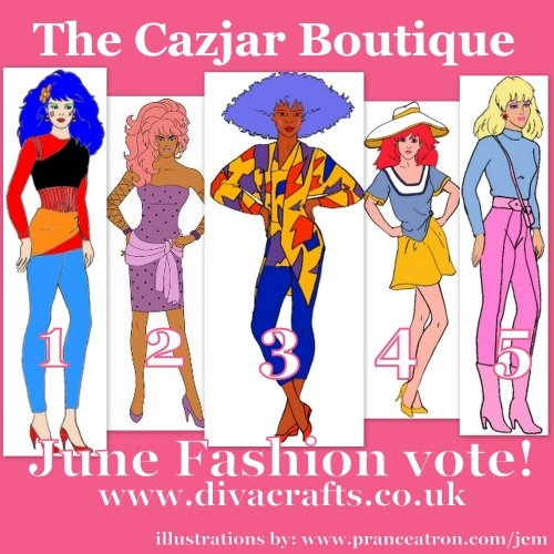 june jem fashion vote cazjar diva crafts