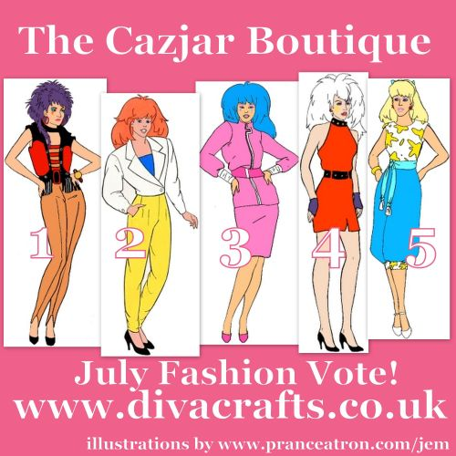 july jem fashion voting cazjar diva crafts