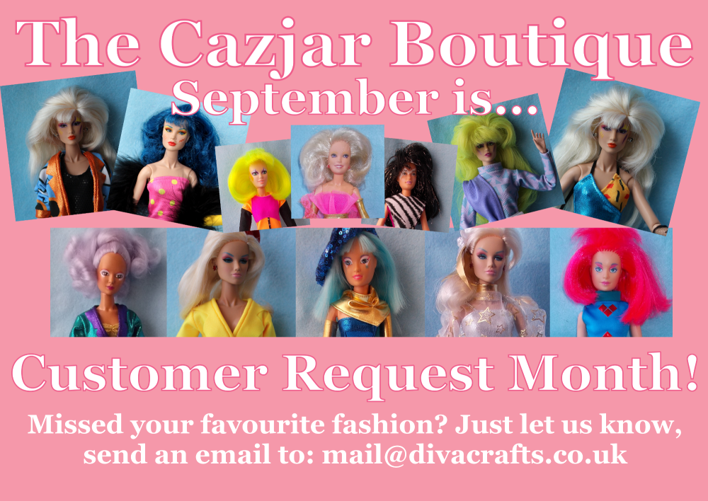 september cazjar jem doll fashions