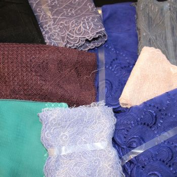 15 Metre Assorted Embroidered Lace Value Pack