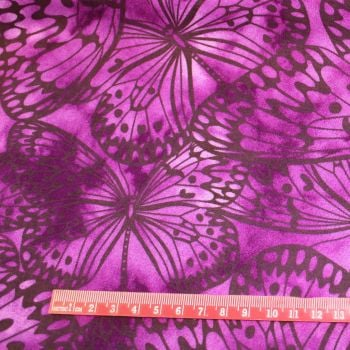 Fabric Freedom Watercolour butterflies - LM