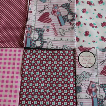 Fat Quarter Bundle - Sewing Theme