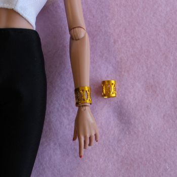 Jem Doll Bracelet Cuff - Yellow