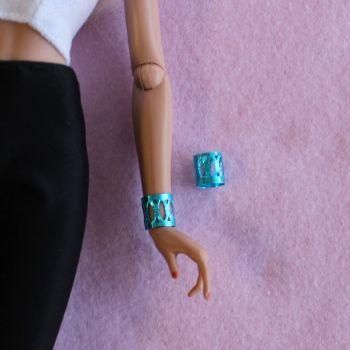 Jem Doll Bracelet Cuff - Blue