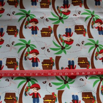 Pirates 100% Cotton Fabric