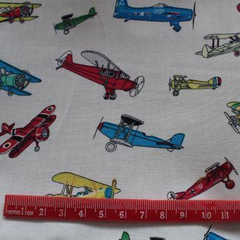 Planes 100% Cotton Fabric