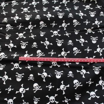 Skull & bones 100% Cotton patchwork  Fabric