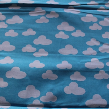 Clouds 100% Cotton patchwork  Fabric