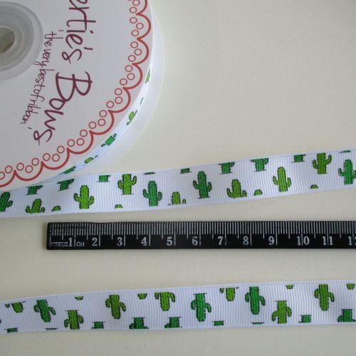 Bertie's Bows 16mm Wide Grosgrain Ribbon - Cactus