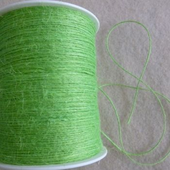 Jute String - 20 Metre Pack - Lime Green
