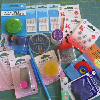 Haberdashery Bargain Bundle RRP minimum £20