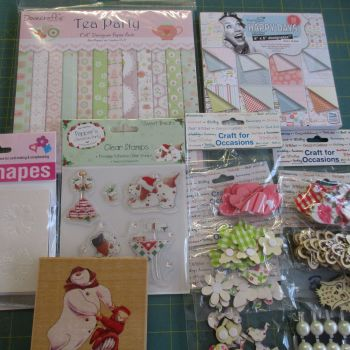 Card Making Papercraft Bargain Bundle RRP minimum £20