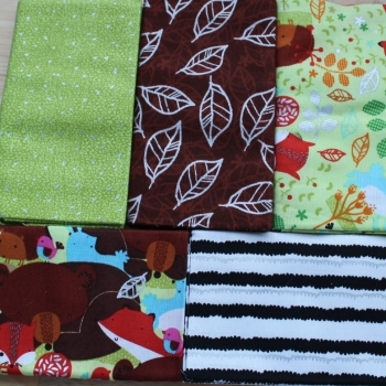 Fat Quarter Bundle - Woodland animals