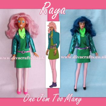 Handmade by Cazjar JEM Fashion Hasbro OR Integrity - 062