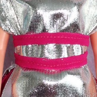 Handmade by Cazjar Pedigree Sindy Fashion - Reproduction Inspired Space Fantasy BELT ONLY