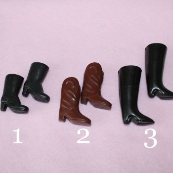 Authentic Sindy Shoes - Boots Brown or Black