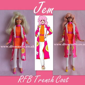 Handmade by Cazjar JEM Fashion Hasbro OR Integrity - 021
