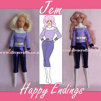 Handmade by Cazjar JEM Fashion Hasbro OR Integrity - 115