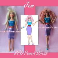 Handmade by Cazjar JEM Fashion Hasbro OR Integrity - 117