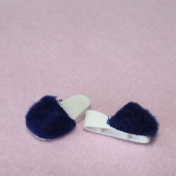 Authentic Sindy Shoes - Navy Slippers