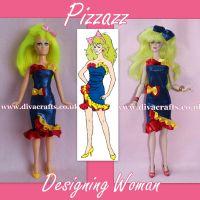 Handmade by Cazjar JEM Fashion Hasbro OR Integrity - 104