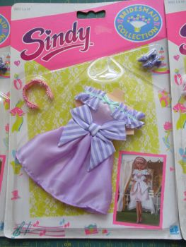 Hasbro Sindy Bridesmaid Collection Lilac MOC