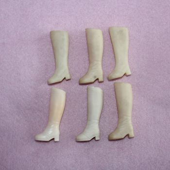 Pedigree boots 3 pairs discoloured