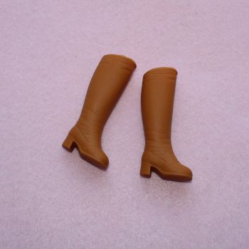 Authentic Sindy Shoes - Tan boots